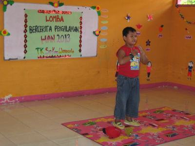 Berprestasi di Lomba Hari Anak Nasional