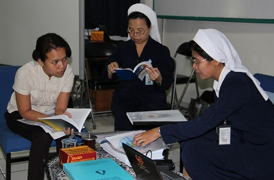 Visitasi Program Sinergi Pengembangan Sekolah Katolik
