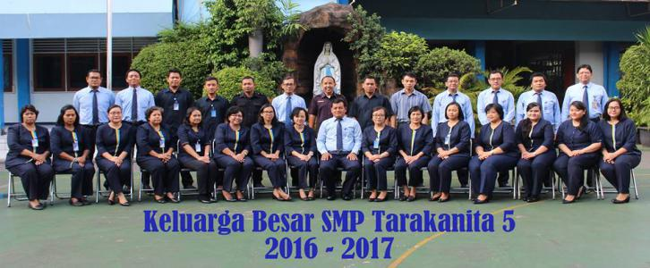 Keluarga Besar SMP Tarakanita 5 Tahun Pelajaran 2016/2017