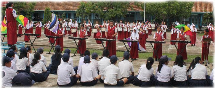 Kunjungan Kelompok Marching Band SDN 35 Lahat