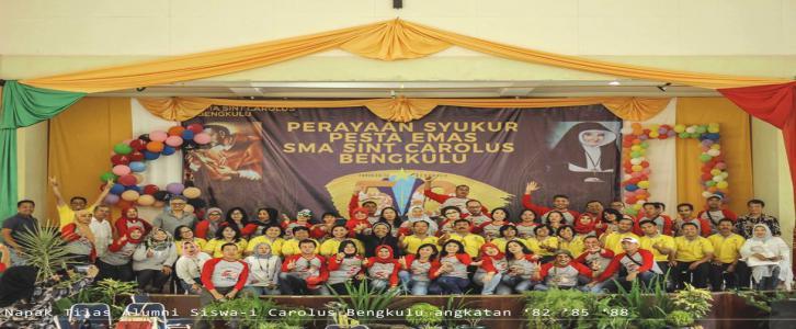 Temu Almuni Angkatan 88 SMA Sint Carolus Bengkulu