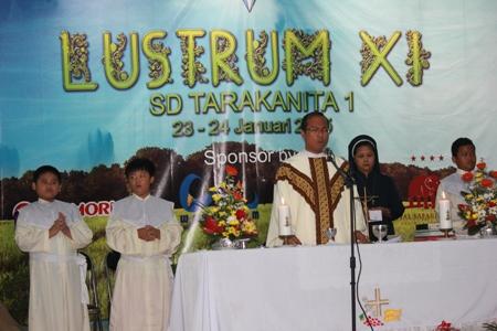 Perayaan Ekaristi dalam rangka Lustrum XI SD Tarakanita 1