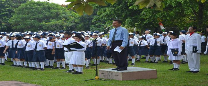 Perayaan Hari Ulang Tahun ke-72 Kemerdekaan RI Unit  Gading Serpong