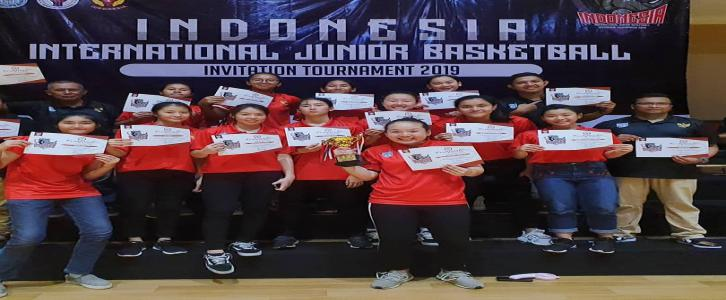 TIMNAS INDONESIA U17 BASKET PUTRI