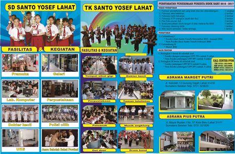 PPDB 2016-2017 TK-SD-SMP-SMA SANTO YOSEF