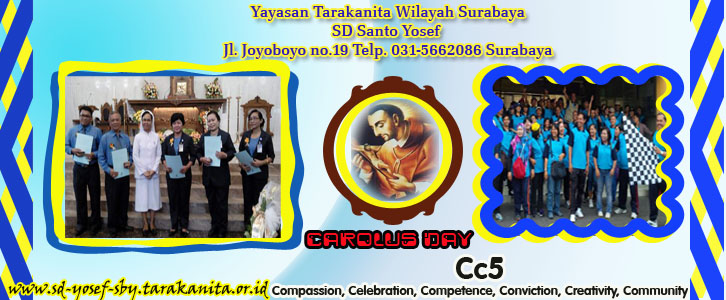 Perayaan Carolus Day 4 november 2016