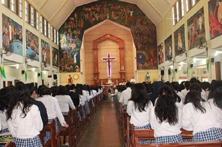 Misa Perayaan HUT STECE 66
