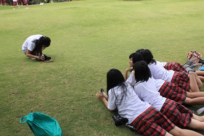 Kegiatan Siswi SMA Stella Duce 1 Yogyakarta