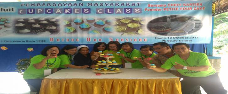Cupcakes Class With Cheff Kartika