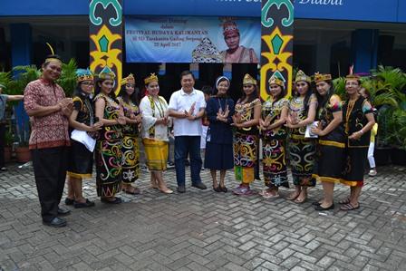 Festival Budaya Kalimantan  Pesona Kalimantan