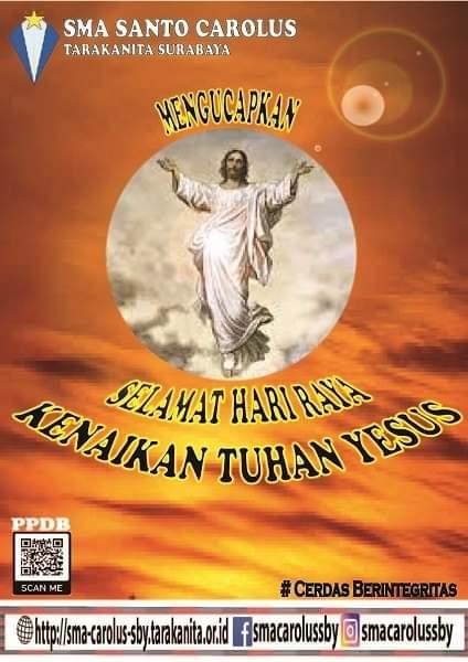 SELAMAT HARI RAYA KENAIKAN TUHAN YESUS