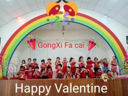Perayaan Imlek dan Valentine Day