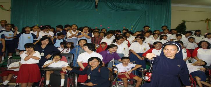 Bhakti Sosial KB/TK, SD dan SMP Tarakanita Blok Q