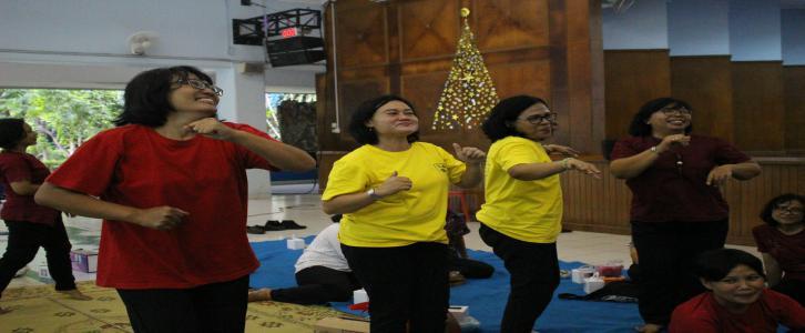 Natal Bersama Guru dan Karyawan SD Tarakanita Gading Serpong