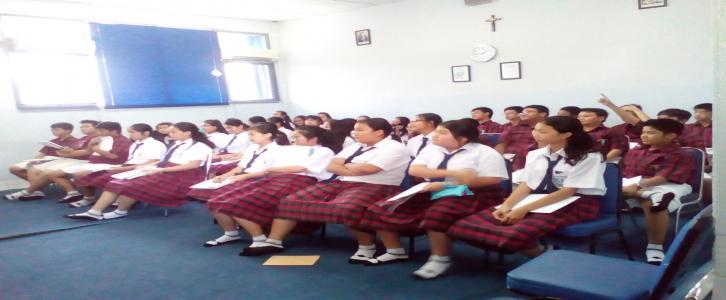 Persiapan LDK SMP Tarakanita 2 Jakarta Tahun 2016-2017