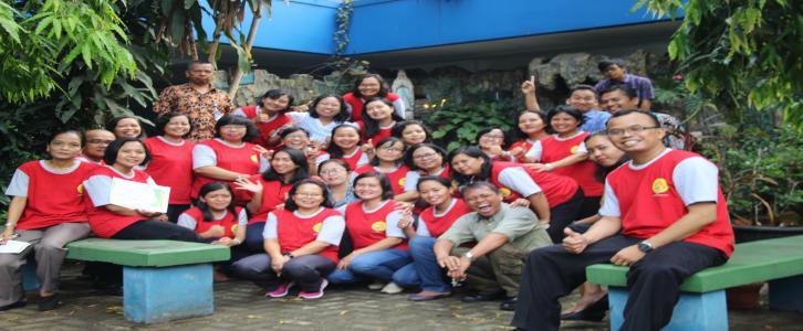 Kebersamaan Dalam Rangka Bulan Rosario