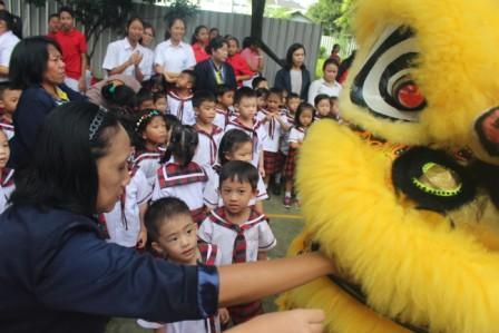 Perayaan Imlek Di SMP Tarakanita Citra Raya