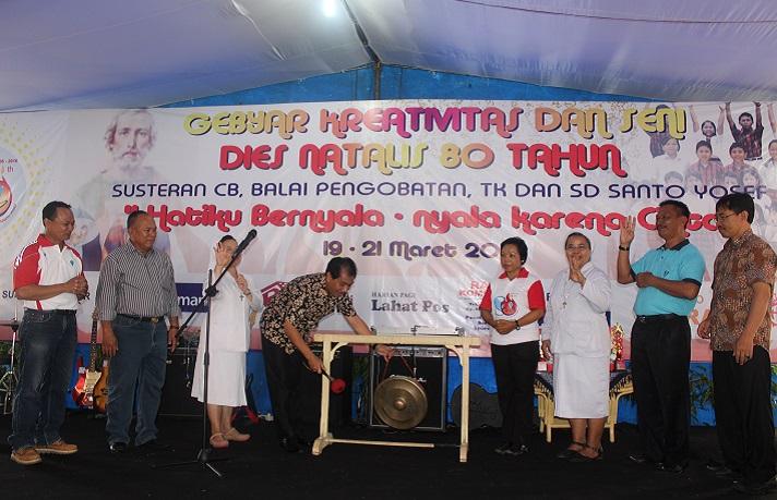 Pembukaan Lomba Mewarnai Tingkat TK  oleh Wakil Bupati Lahat