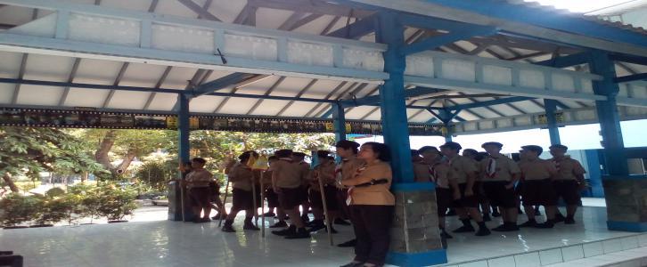 Penggalang SMP Tarakanita 2 Jakarta