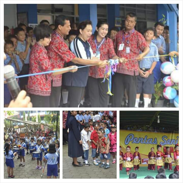 Perayaan 25 tahun KB-TK-SD-SMP Tarakanita Solo Baru