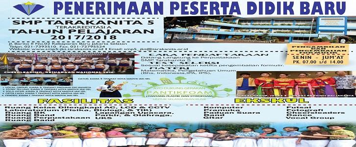 PENERIMAAN PESERTA DIDIK BARU 2017/2018