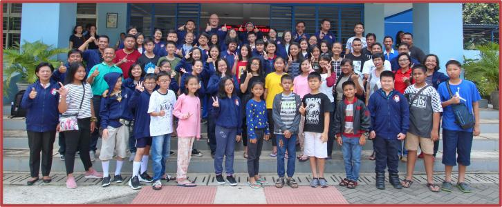 Sambang Kadang Yayasan Tarakanita Wilayah Lahat ke Yayasan Tarakanita Wilayah Tangerang
