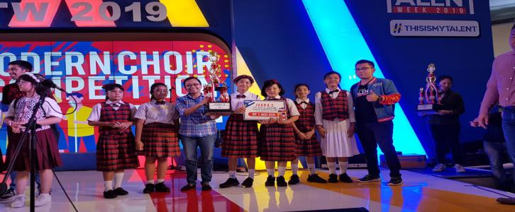 Juara 2 Erlangga Choir Competition