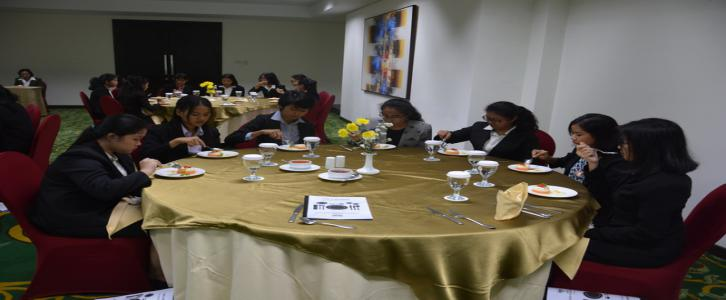 TABLE MANNER KELAS XI ADMINISTRASI PERKANTORAN
