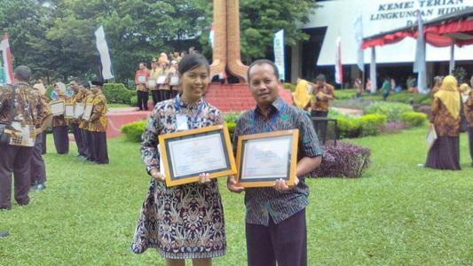 Penerimaan Penghargaan Adiwiyata