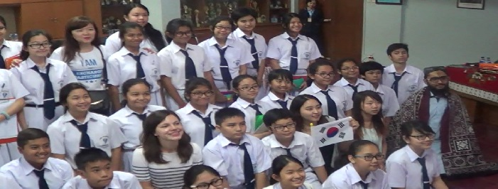 Kunjungan mahasiswa AIESEC