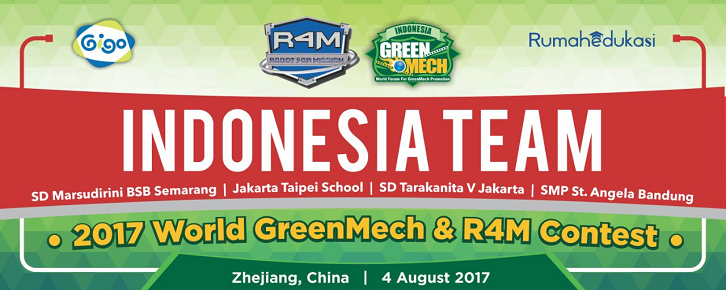 2017 World GreenMech Contest, Zhejiang, China, 4 August, 2017