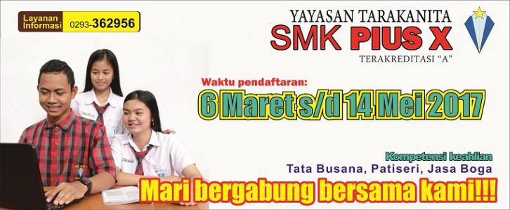 PPDB SMK Pius X Magelang