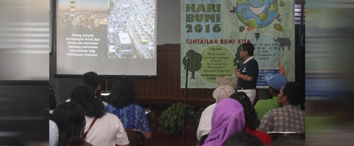 Peringatan HARI BUMI 22 April 2016
