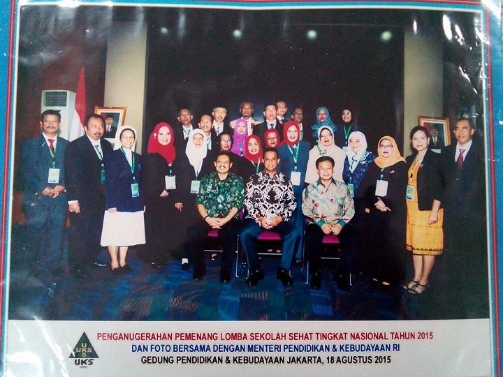 Penganugerahan Best Performen 3 Lomba Sekolah Sehat Tingkat Nasional Tahun 2015