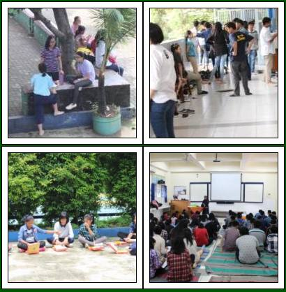 Rekoleksi Siswa/i Kelas VII-VIII SMP Tarakanita 3