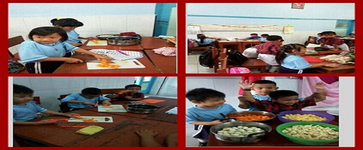 Cooking Day Grade 1 up to 3