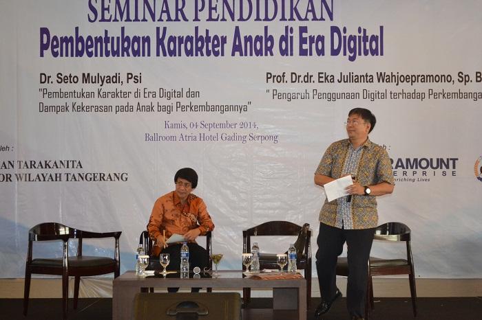 Seminar Pendidikan Oleh Kak Seto