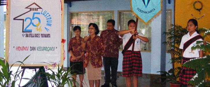 Pembukaan Lustrum V SMA Stella Duce 2 Yogyakarta