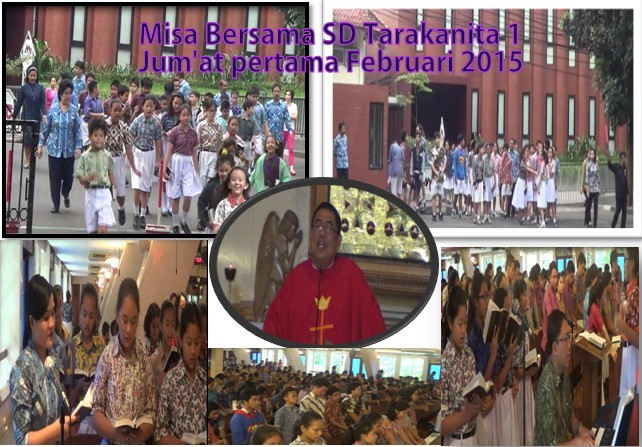 Misa Bersama SMP Tarakanita 5 dan SD Tarakanita 1