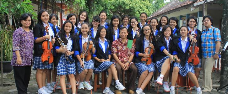 Team Orkestra SMA Stella Duce 2 Yogyakarta