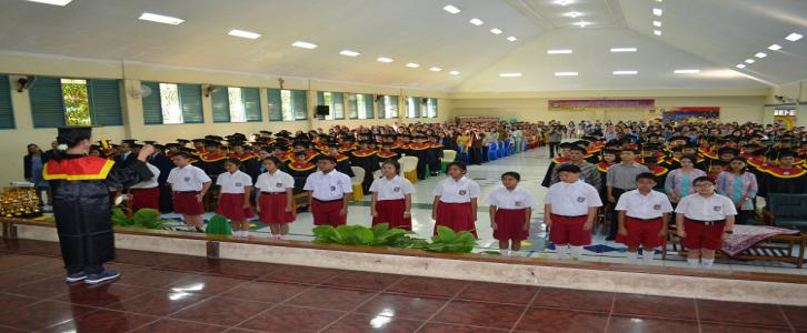 Pelepasan Siswa-siswi SD Tarakanita Gading Serpong kelas VI Angkatan 2015/2016