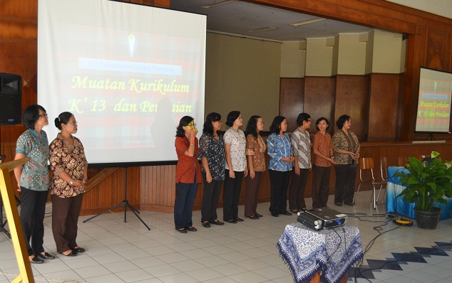 Sosialisasi K13 di SD Tarakanita Gading Serpong