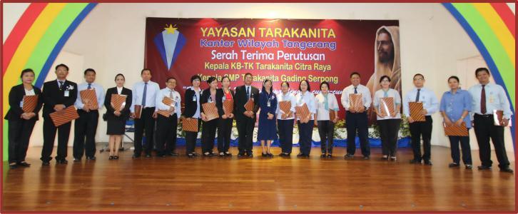 Serah Terima Tugas Perutusan Kepala Sekolah