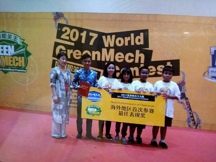 SD Tarakanita 5, The Best Performance of Overseas at 2017 World GreenMech Contest, Zhejiang, China