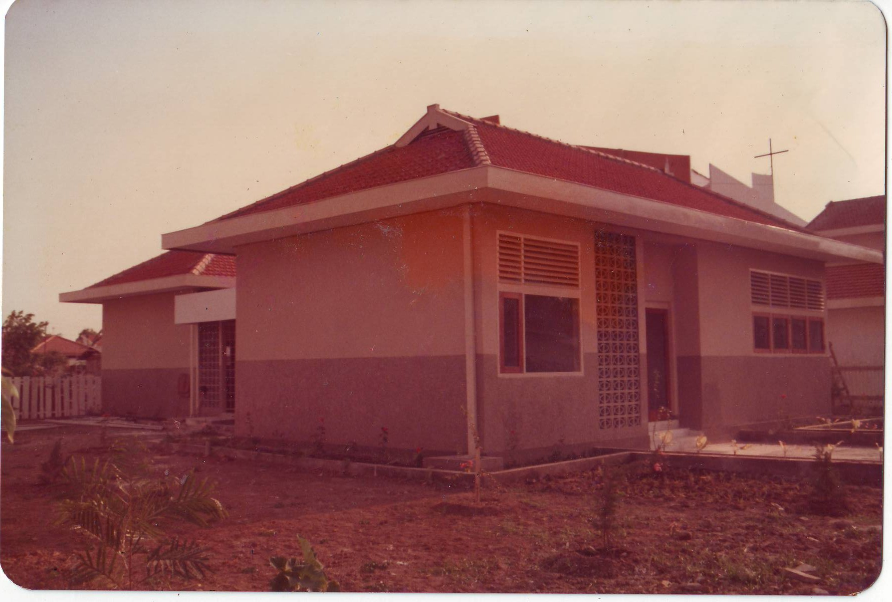 Gedung TK St. Carolus dulu